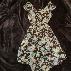 Very pretty High low dress with a back cut out